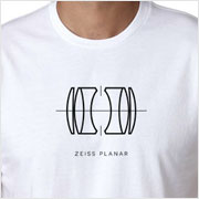 Buy a Zeiss Planar Lens Diagram T-shirt on Vintage Camera Lab