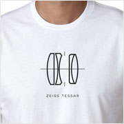 Buy a Zeiss Tessar Lens Diagram T-shirt on Vintage Camera Lab