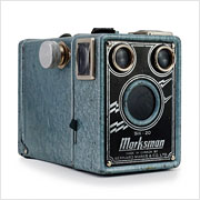 Read about the Marksman Six-20 camera on Vintage Camera Lab