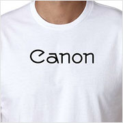 Buy a vintage Canon logo T-shirt on Vintage Camera Lab
