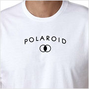 Buy a vintage Polaroid logo T-Shirt on Vintage Camera Lab