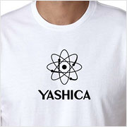 Buy a vintage Yashica logo T-shirt on Vintage Camera Lab