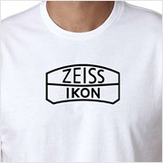 Buy a vintage Zeiss Ikon logo T-shirt on Vintage Camera Lab