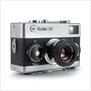 Read about the Rollei 35 camera on Vintage Camera Lab