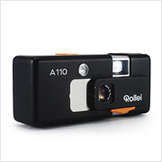Read about the Rollei A110 camera on Vintage Camera Lab