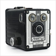 Read about the Spartus Box 120 camera on Vintage Camera Lab