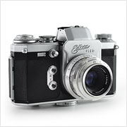 Read about the Wirgin Edixa Flex camera on Vintage Camera Lab