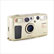 Read about the Yashica T4 Super D camera on Vintage Camera Lab