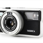 Yashica EZ-Matic Electronic (three-quarter view)