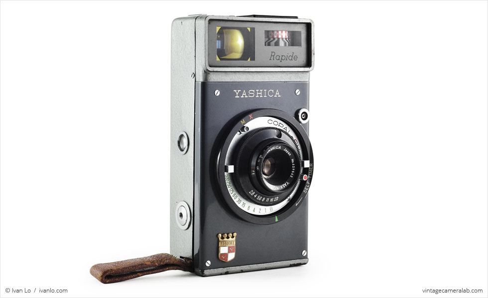 Yashica Rapide (three quarters)