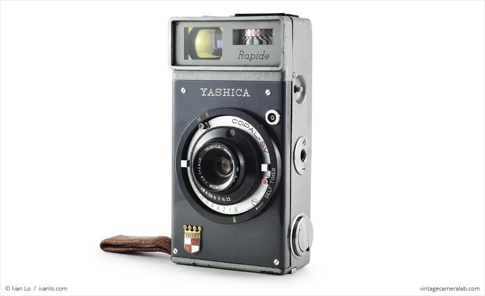 Yashica Rapide (three-quarter view)