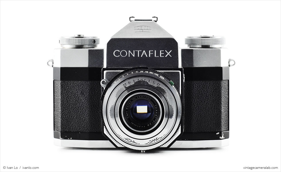 Zeiss Ikon Contaflex I (front view)